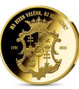 230 éve született a legnagyobb magyar! Színarannyal bevont jubileumi érem készült az emlékére